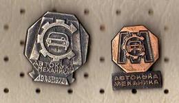 Auto House MECHANICS.Slovenia.2 Pins - Badges