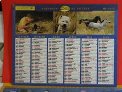 Calendrier > Lavigne De L'An 2000 D'un Siècle à L'autre - Almanach Des P.T.T. 2000 - Vendu En état - Calendriers