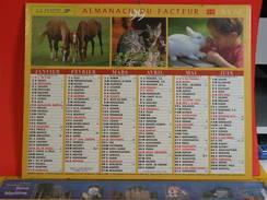 Calendrier > Lavigne La Fin D'un Siècle à L'autre - Almanach Des P.T.T. 1999 - Vendu En état - Calendriers