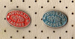Auto Work Company From Zagreb.Croatia.2 Pins - Badges