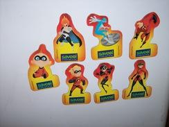 Magnets Les Indestructibles Complet Et Peu Courant - Personnages