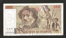 FRANCE - BANQUE De FRANCE - 100 Francs DELACROIX (1993) Serie: C. 214 - 1962-1997 ''Francs''