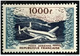 France PA (1954) N 33 * (charniere) - Poste Aérienne