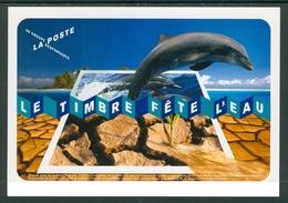 17 (zch40) La Poste Fete L' Eau Dauphin Dolfin Nature Water - Dauphins