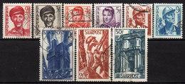 SAAR 1948 - MiNr: 239-251 Lot 9 X  Used - 1947-56 Allierte Besetzung