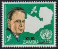 Zm1093 ZAMBIA 2013, SG1093 New Currency K1.50 On K2,700 Hammarskjoeld  MNH - Zambia (1965-...)