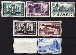 SAAR 1952 - MiNr: 319-337   Lot 6 X  * / MH - 1947-56 Allierte Besetzung