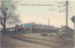 Cpa 39 – Fraisans – Ateliers De Construction Et Bureau - Autres Communes