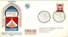 ALGERIE - Premier Jour Tizin Ouzou 1958 - P21241 - Algérie (1924-1962)
