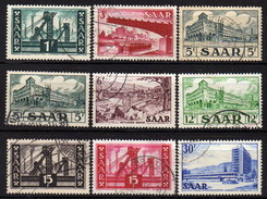 SAAR 1952 - MiNr: 319-337 Lot 9 X  Used - 1947-56 Allierte Besetzung