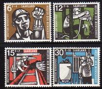 SAAR 1957 -  MiNr: 404-407 Komplett  * / MH - 1957-59 Bundesland