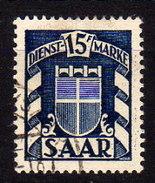 SAAR Dienst 1949 - MiNr:  40   Used - Dienstmarken