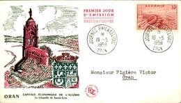 ALGERIE - Premier Jour Oran 1958 - P21247 - Algérie (1924-1962)