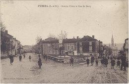 Carte 47 – Fumel – Avenue Thiers Et Rue Du Barry - Fumel