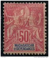 Madagascar (1896) N 38 * (charniere)