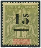 Madagascar (1902) N 50 * (charniere)