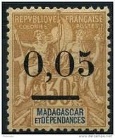 Madagascar (1902) N 52 II * (charniere)