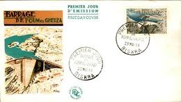 ALGERIE - Premier Jour Barrage De Foum El Gherza 1959 - P21253 - Algérie (1924-1962)
