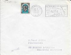 ALGERIE  -  NEMOURS / ORAN  - FLAMME N° 1 SDL  - NEMOURS PORT DE TRANSIT / ALGERO MAROCAIN -  1956 - Algeria (1924-1962)