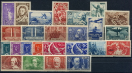 PROMOTION EXCEPTIONNELLE France Année Complète 1936 NEUF ** LUXE - Unused Stamps
