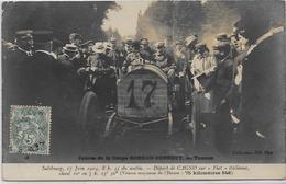 CPA Voiture Automobile Course Circuit Circulé Gordon Bennett SALZBOURG 1904 Fiat - Autres