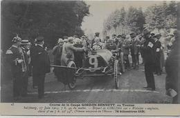 CPA Voiture Automobile Course Circuit Non Circulé Gordon Bennett SALZBOURG 1904 Taunus Wolseley - Autres