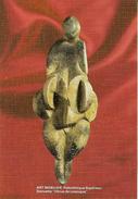 Cp Préhistoire, Les Eyzies De Tayac, Vénus De Lespugue En Ivoire, Statuette, Art Pariétal - France