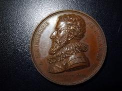 Médaille A Malherbe Né à Caen En 1555 (gravée Par E Gatteaux En 1815) - Francia