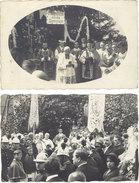 Cpa 68 – 2 Cartes-photos Mulhouse, Cérémonie Religieuse - Mulhouse