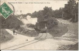 36 - Indre  - TRAMWAYS Ligne De Saint-Benoit-du-Sault à Le Blanc - Le Blanc
