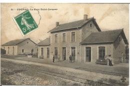 COGNAC  -  La Gare Saint-Jacques - Gares - Sans Trains