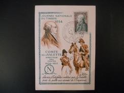 France , Premier Jour De 1954 , Comte De La Valette - FDC