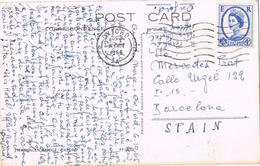 21098. Postal OXFORD (England) 1965. Magdalen Bridge - 1952-.... (Elizabeth II)