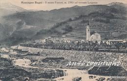 RONCEGNO BAGNI-IL MONTE FRAVORT M. 2383  Col Torrente LARGANZA-ORIGINALE ANTICA 100% - Trento