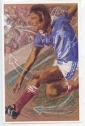 Football France Championne 1998 : Siècle De Sport Dessin Laurent Roche - Publicité La Poste - Calcio