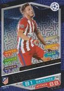 MATCH ATTAX CHAMPION LEAGUE 2016/17 - SAUL NIGUEZ (CLUB ATLETICO DE MADRID - LEGGI - Trading Cards