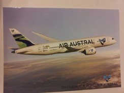 Airline Issue - AIR AUSTRAL Boeing 787 Dreamliner - Postcard1 - 1946-....: Modern Era
