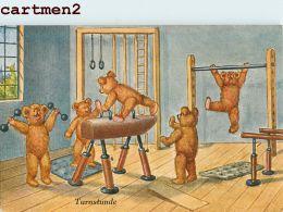 LEO STAINER TEDDY-BEAR NOUNOURS OURSON TEDDYBÄR PELUCHE OSO ORSO JEU JOUET ANCIEN FANTAISIE SPORT GYMNASTIQUE - Jeux Et Jouets