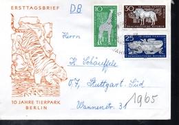 DDR   Lettre Lezards Tigres