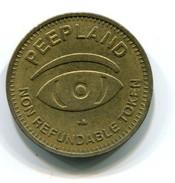 Peepland Token - Monetary/Of Necessity