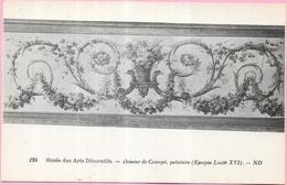 PARIS - 75 - Musée Des Arts Décoratifs - Dossier De Canapé Peinture Epoque Louis XVI  - ENCH1612 - - Musées