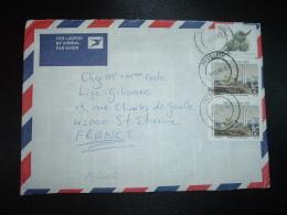 LETTRE Par AVION Pour La FRANCE TP MATIMBA 40c X2 + TP R1 OBL.1991 08 27 - Afrique Du Sud (1961-...)