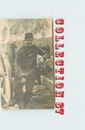 MILITARIA - CARTE PHOTO De MILITAIRE - SOLDAT & CANON - Guerre 1914-18