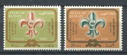 188 KOWEIT Kuwait 1966 - Yvert 332/33 - Scout Scoutisme - Neuf ** (MNH) Sans Trace De Charniere - Koweït