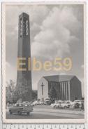 Düren (Nordrhein-Westfalen), AK, Evangelische Kirche, Schenkenstrasse, Opel Kadett Break, Geschrieben - Dueren
