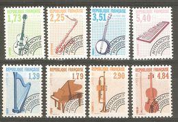 France Préoblitéré Yvert N° 202 à 205 Et 224 à 227  Neuf ** Sans Charniére 8 Timbres - Départ Petit Prix - 1989-....