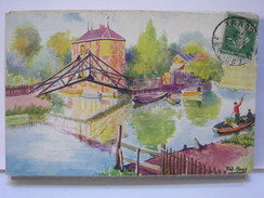 80 - AMIENS - LES HORTILLONAGES - LES SITES DE FRANCE PAR FRED. MONEY - 1922 - Amiens