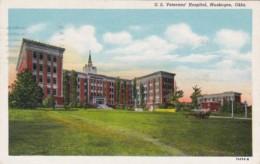 Oklahoma Moskogee United States Veterans' Hospital 1942 Curteich - Muskogee