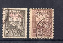DR Dt. Bes. RUMÄNIEN MiNr 1x + 2x Je Gestempelt - Besetzungen 1914-18