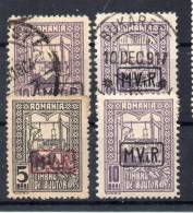 DR Dt. Bes. RUMÄNIEN MiNr 3/5 */O - Besetzungen 1914-18